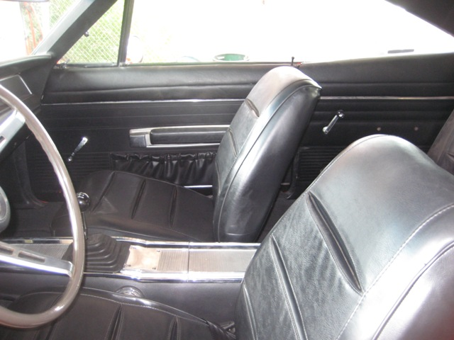 1968 Dodge Charger R T Custom Carpeting And Interior